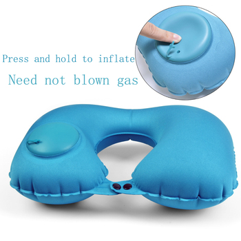 Automatic Inflatable Travel Pillow 1