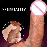 Lifelike Soft Silicone Realistic Dildo Suction Cup Dildo Male Artificial Penis Female Masturbator Adult Sex Toys For Women Dick.