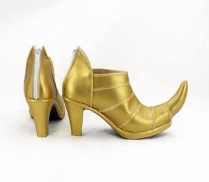 Image 2 - JOJOS BIZARRE ADVENTURE 3 Dio Brando Cosplay Shoes High Heel Custom Made