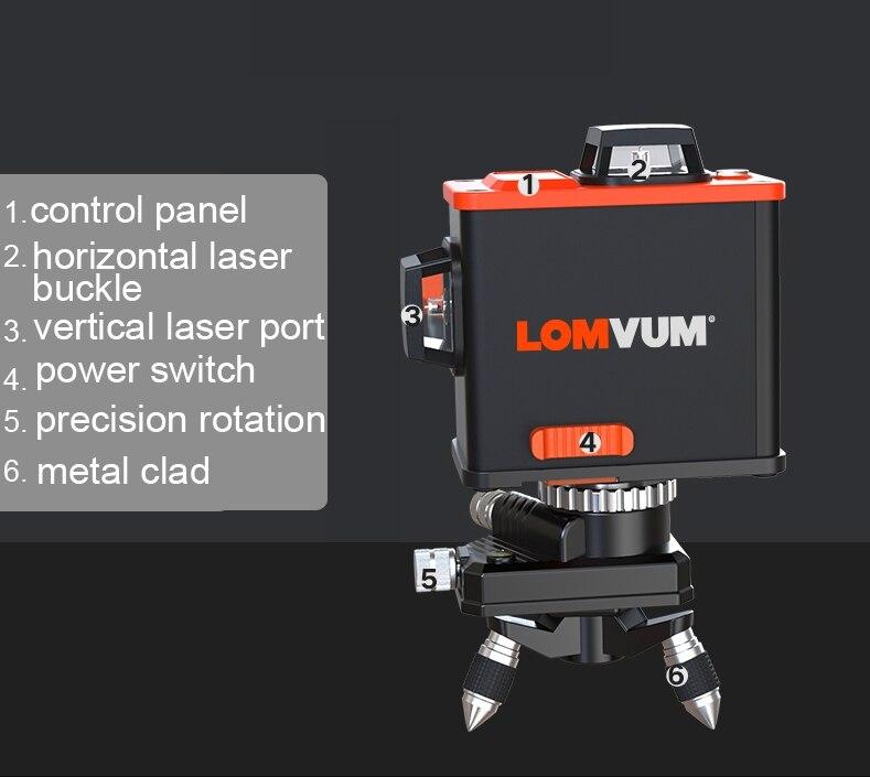 Level 12Lines Osram Laser 13