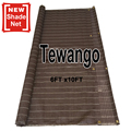 Tewango кофейные тени паруса 6Ft x 10Ft/1 8 метров x 3 метра тени чистая суккулентная занавес для растений с креплением кольцевой конструкции