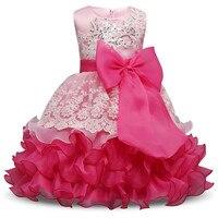 Retail Luxury Baby Girl Fluffy Christening Gown Dress Little Bridesmaid Children S Girl Christmas Dress Kids