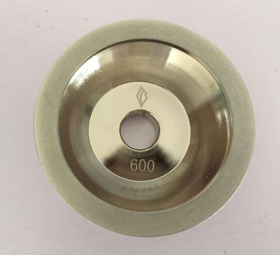 цена на 100x10x5x20(3/4)x35mm Diamond Grinding Wheel Cup #100/150/200/320/400/600 Grit Cutter Grinder for Carbide Metal 11C9