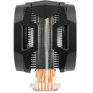Image 3 - Cooler master 6 cobre radiador cpu, cooler t610p para intel 1155 1156 amd am4 cpu radiador 12cm rgb 4pin ventilador de cpu de refrigeração, pc silencioso