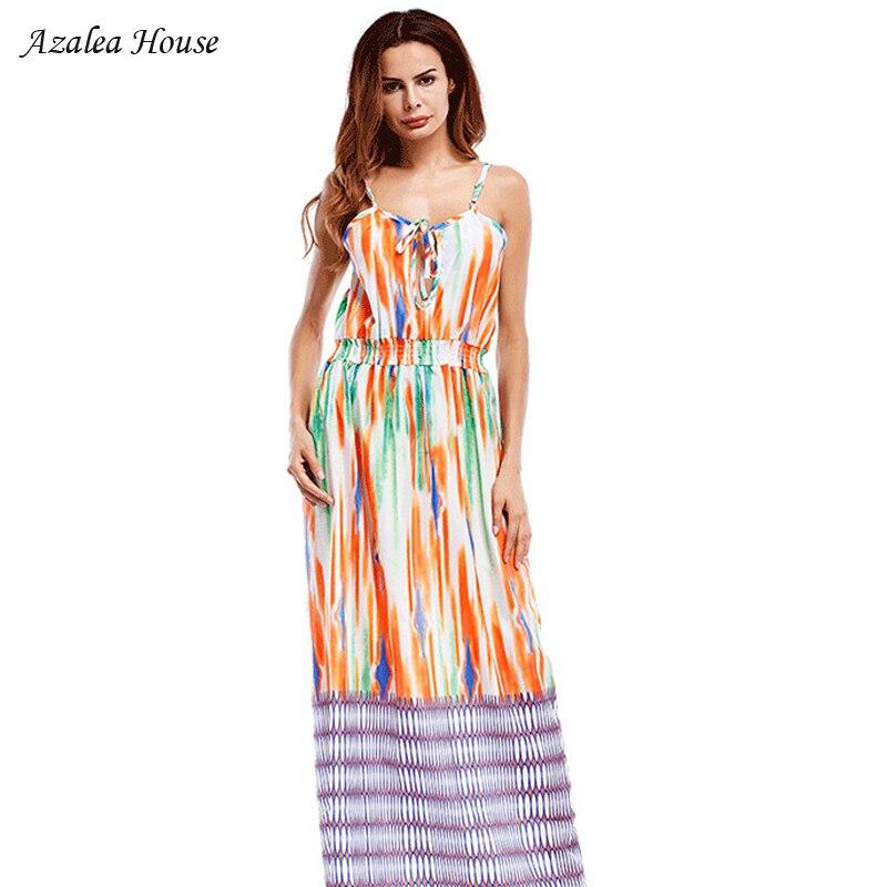 Azalea House 2018 Women Summerdress Elastic Waist Harness