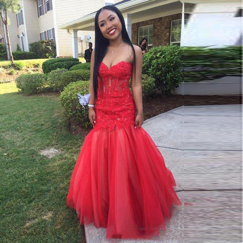 red long dress cheap free