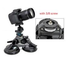 DSLR Camera montagem Do Carro de sucção otário filmagens Carro estabilizador de Vídeo Suporte do estabilizador para DSLR HDV 5d2 5d 3 Fim