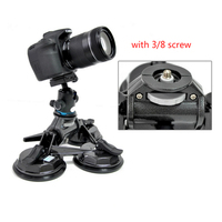 DSLR Camera suction mount Car sucker filming stabilizer Car stabilizer Holder for 5d2 5d 3 DSLR HDV Fim Video