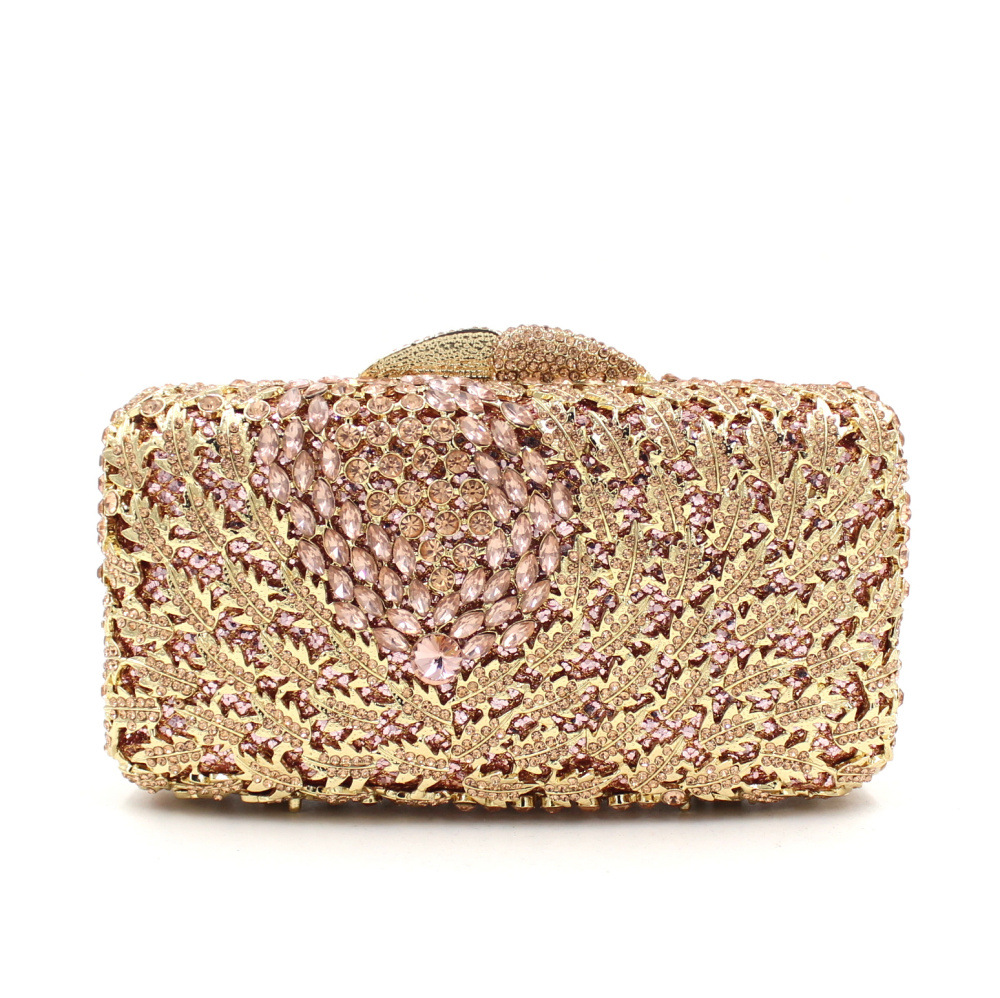 Luxury crystal clutch bag red colorful women evening bags paisley party pochette bag bridal sac soiree prom hand Purse bags luxury crystal clutch handbag women evening bag wedding party purses banquet
