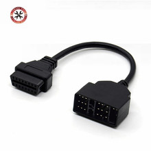OBD OBD2 Diagnostic Connector 22 Pin to 16 Pin For Toyota 22PIN OBDII Cable Adapter Transfer For Toyota 22Pin to OBD2 16Pin