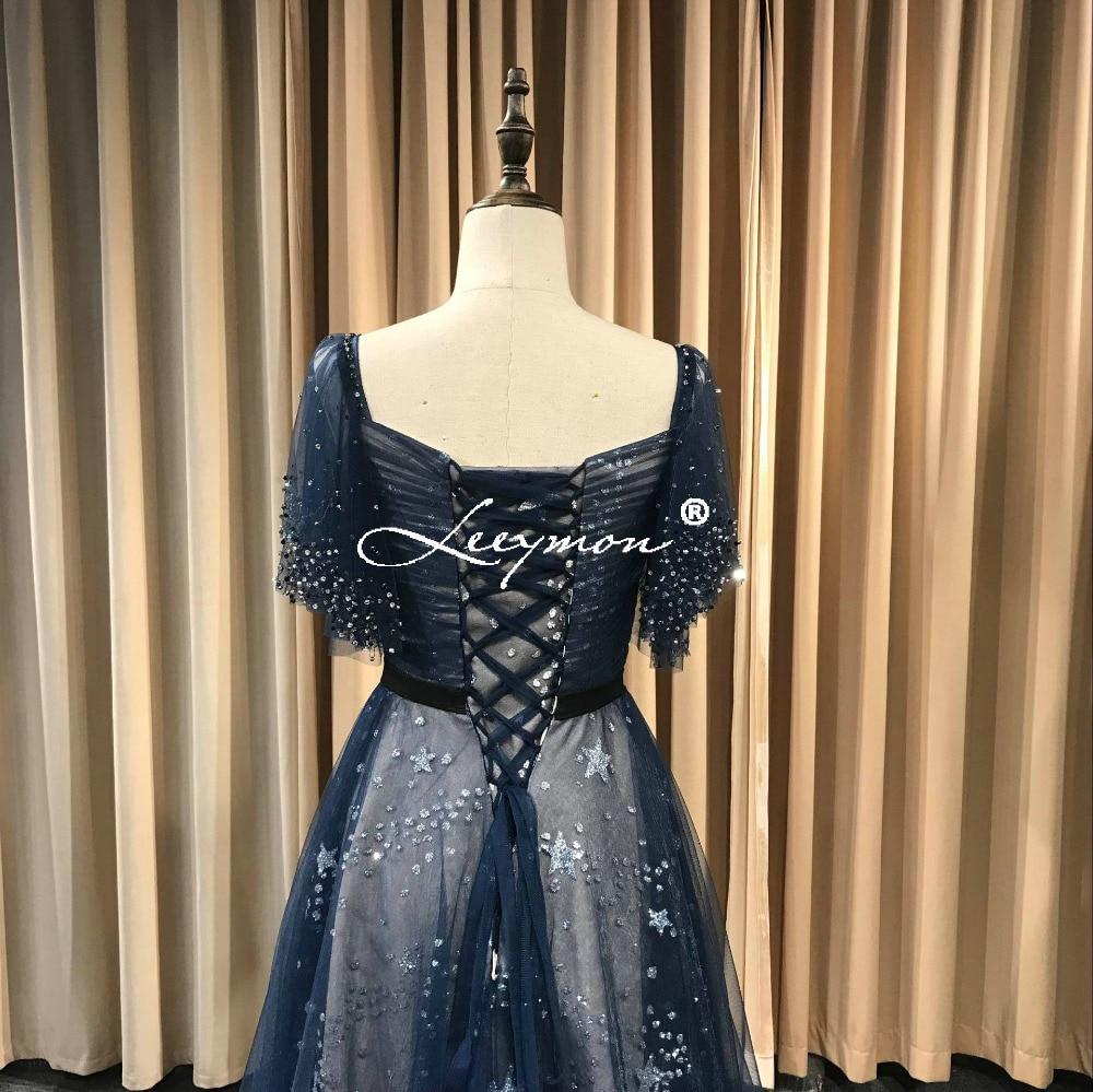 Leeymon 2019 Free Shipping Prom Dresses Sequins Lace Evening Party Dress A  Line Vestido De Festa Long Prom Dress Real Pictures-in Prom Dresses from  Weddings ... f1d0aea2b57f