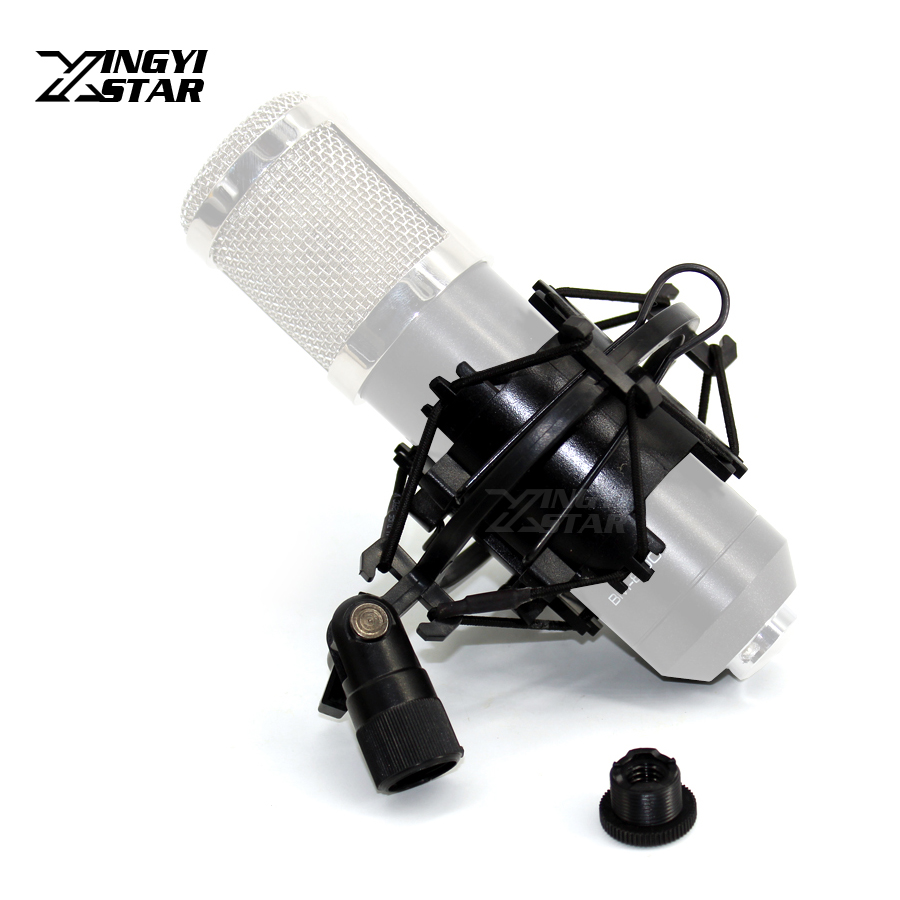 Plastics Shockmount Studio Recording Microphone Stand Spider Shock Mount Suspension Mic Holder Clip Clamp BM800 BM700 Shockproof image