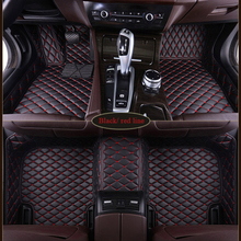 цена на 2019 Custom car Boutique  floor mats for Land Rover All Models Rover Range Evoque Sport Freelander Discovery 3 4 car styling