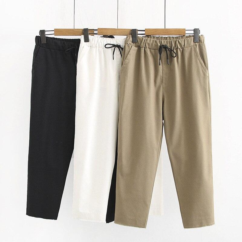 2019 été grande taille femmes pantalons décontractés pantalons grande taille nouveau grand Harem crayon pantalon dames Harem Long pantalon XL-4XL