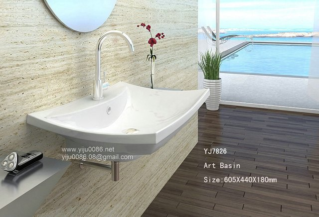 Modern Design Sink Sanitary Ware Basin Bathroom Wash