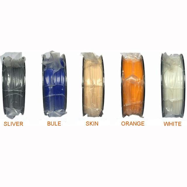 2019 Top 3D Printer Filament 1.75 1kg PLA/bas plastic Rubber Consumables Material