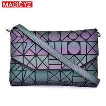 MAGICYZ Crossbody Bag For Women 2020 Fashion Laser Geometric Luminous Women Handbags Purse Clutch Designer Brand Shoulder Bags