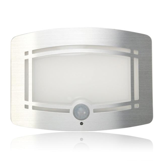 draadloze led nachtlampje bewegingssensor nacht lampen batterij aangedreven slaapkamer decoratie verlichting wandlamp led sensor kindje lamp