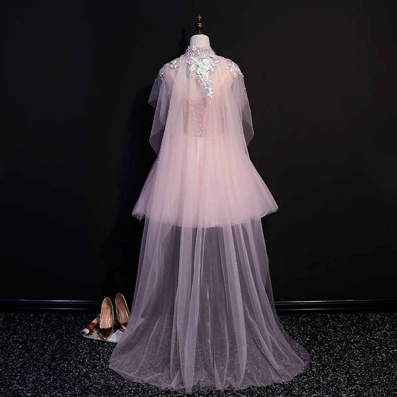 932f4a080b79 ... luxury embroidery flowers short lolita dress with long  cloak/cartoon/carnival cosplay ...