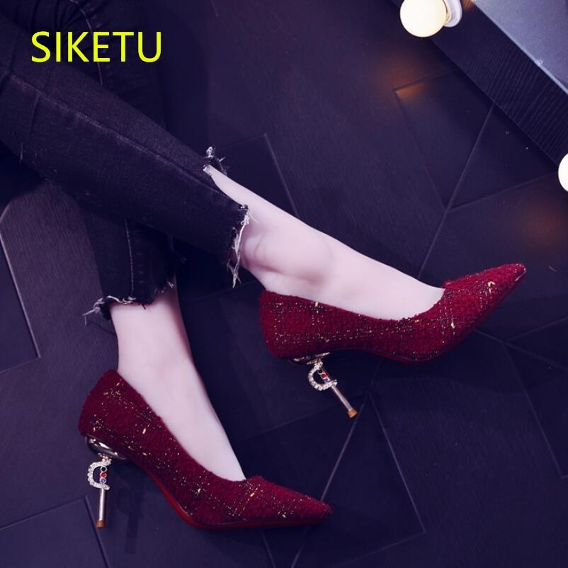 41f3c3ea Sexy 8 Zapatos 1 Bombas Cm Gratis Boda Sandalias 2 Moda Envío Verano Altos  G673 De Siketu Dama Tacones Honor ...