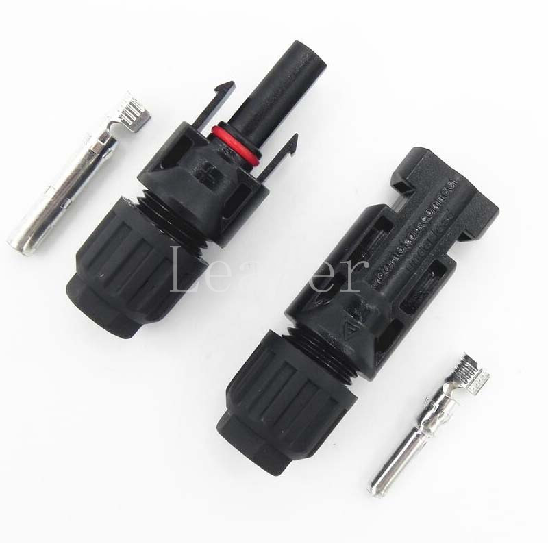 US $26 12 16% OFF|50pair/lot High Quality solar connector IP67 MC4 Solar  Panel Plug mc4 connector Male & Female -in Connectors from Lights &  Lighting