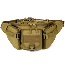 Military Fan Tactics Waist Bag Durable Travel Cycling Storage Organizer Hiking Fishing Sports Bag for Outdoor