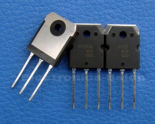 ( 2 Pcs/lot ) 2SJ162 & 2SK1058 Original MOSFET J162 K1058.