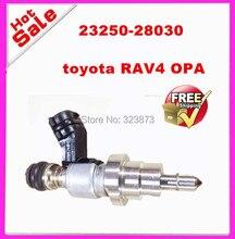Оригинальный отремонтированы и испытаны ТОПЛИВА INJECOR/ВПРЫСКА для Toyota Avensis RAV4 Топливные Инжекторы OPA 23250-28030 23209-28030