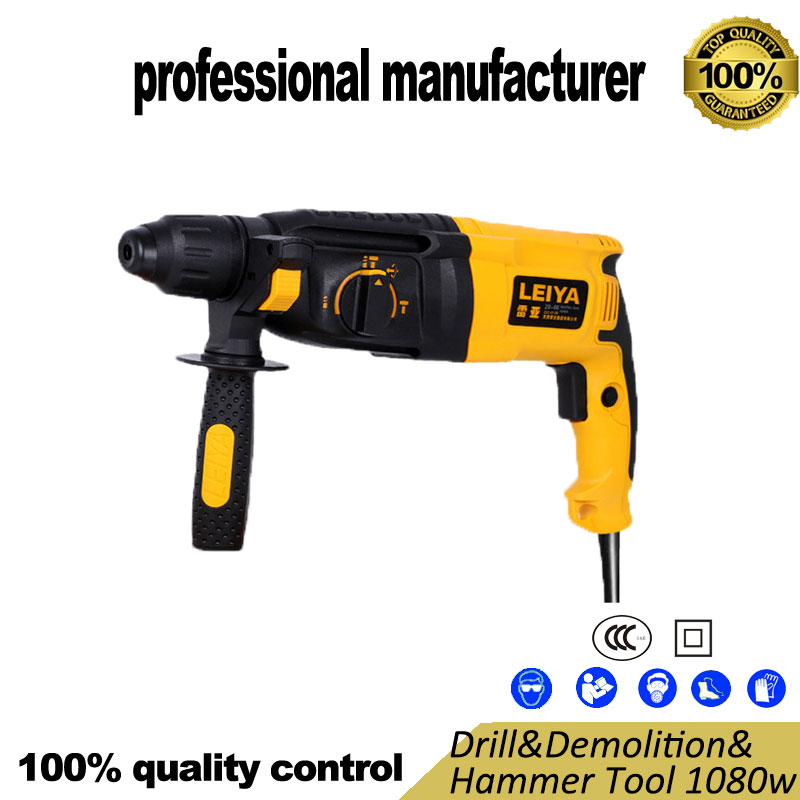 цены 28-06 electrical hammer ccc certified quuality for cement broken wall brick broken pvc box free at good price