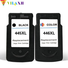 купить For Canon PG-445 CL-446 PG 445 CL 446 Ink Cartridges Canon PIXMA iP2840 MG2440 MG2540 MG2940 MX494 printer ink pg445 cl446 дешево