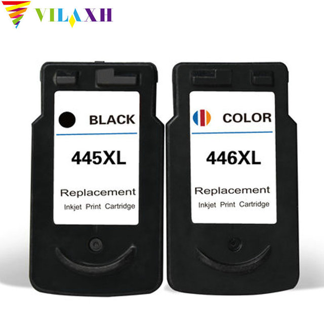US $35 17 14% OFF|PG 445 CL 446 Cartridge PG 445 CL 446 Ink Cartridge For  Canon pg445 for canon PIXMA iP2840 MG2440 MG2540 MG2940 MX494 printer-in  Ink