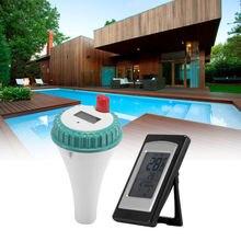 Гермометр с ЖК-приемник водонепроницаемый измеритель температуры для бассейна, спа гидромассажная Ванна
