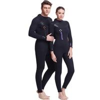 Dive Sail 3MM Wetsuit Neoprene Scuba Diving Suit Unisex Dive Spearfishing Wet Suit Clothes Plus Size