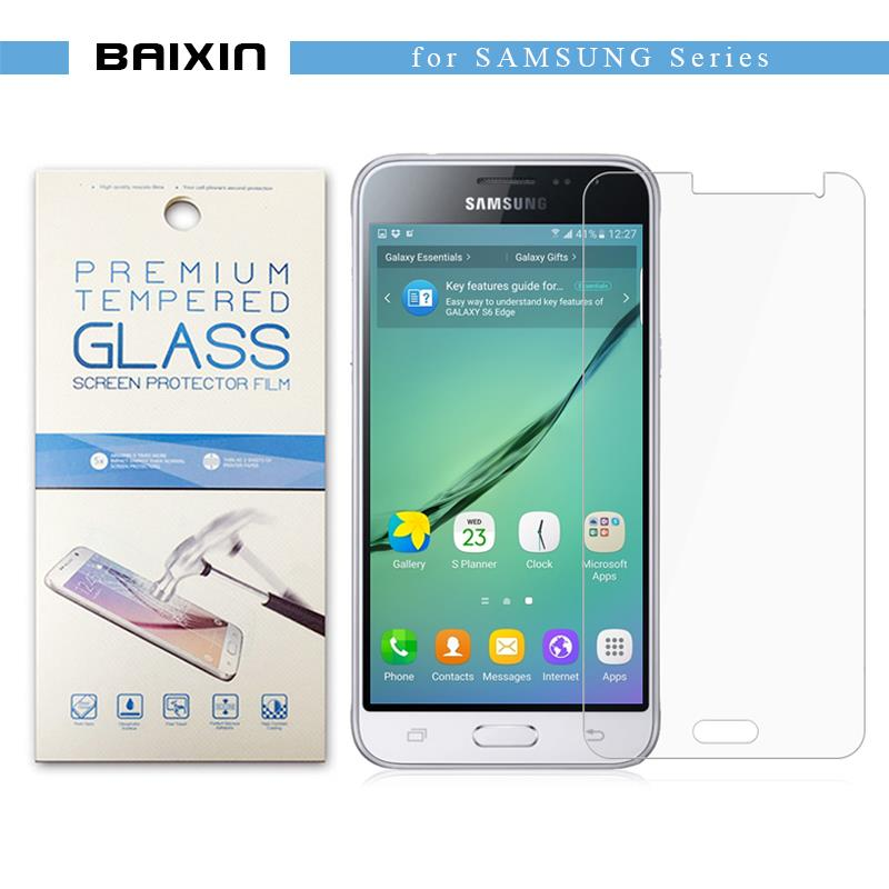 baixin 9H Tempered Glass Clear Screen Protector For Samsung Galaxy S6 G9200 S 6 Protective Glass Film Guard with retail package