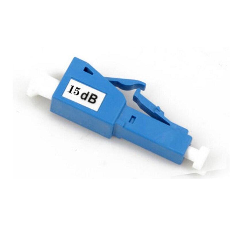 5PCS/bag 15DB LC UPC female to male 15dB fiber optic Attenuator 15db LC PC female male Fiber Optic Attenuator Free shipping