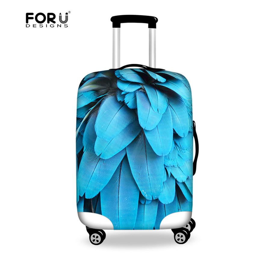 FORUDESIGNS New Arrival Luggage Suitcase Protective Cover For 18 to 28 inch Travel Case Women Luggage