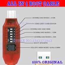 Gsmjustoncct, fácil conmutación, Micro USB RJ45, cable edl de arranque multifunción todo en uno