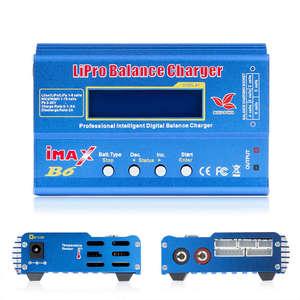 Image 5 - Imax B6 12vバッテリー充電器80ワットliproバランス充電器ニッケル水素リチウムイオンni cdデジタルrc充電器12v 6A電源アダプタ充電器 (無plu