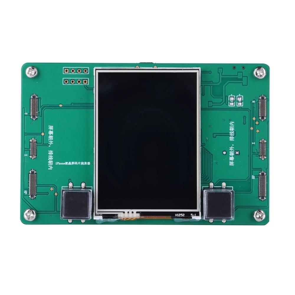 LCD Écran EEPROM Photosensible Données Lire Écrire Programmeur De Sauvegarde pour iPhone 8 8 plus X photosensible De Réparation outil