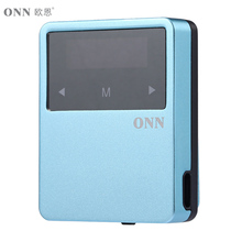 Onn x1 super reproductor de alta fidelidad de la música de nuevo clip mp3 sport 8 gb multi-idioma Bluetooth 4.2 FM de Radio HD E-book Record Podómetro Mini MP3