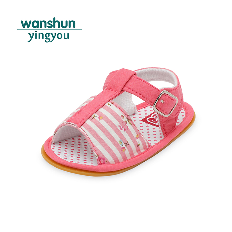 Baby boy girl shoes first walkers summer Anti-slip Prewalker outdoor infant crib shoes for babies soft sole cute bebe toddler