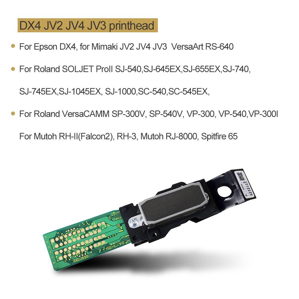 OYfame DX4 печатающая головка новая и оригинальная Printerhead для Epson DX4 Eco Solvent для Roland FJ-40 42 FJ-50SC-500SJ-500 SJ-600CJ-500