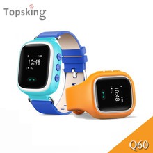 Hot Kid GPS Smart Watch Wristwatch SOS Call Location Finder Locator Device Tracker for Kid Safe Anti Lost Monitor Baby Gift Q60