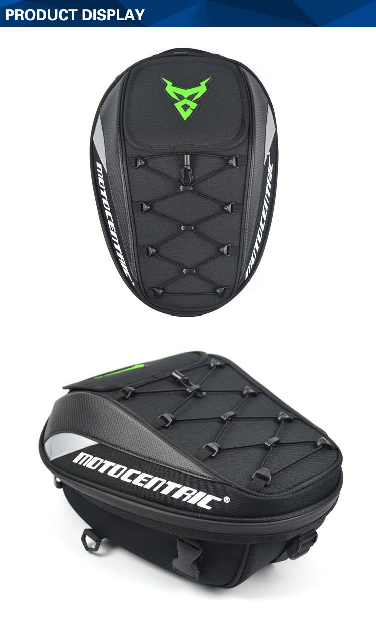 Brand New Waterproof Motorcycle Tail Bag Multifunction Motorcycle Rear Back Seat Bag High Capacity Motorcycle Rider Backpack 11