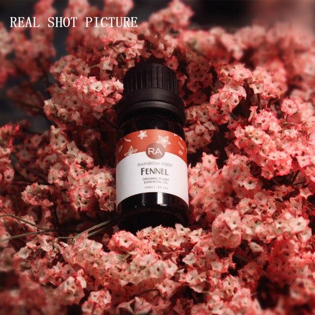 Huile essentielle de fenouil Pure huiles essentielles naturelles damélioration du sein améliorent la peau en vrac huile de Massage huile de fenouil végétale Pure 10 ML