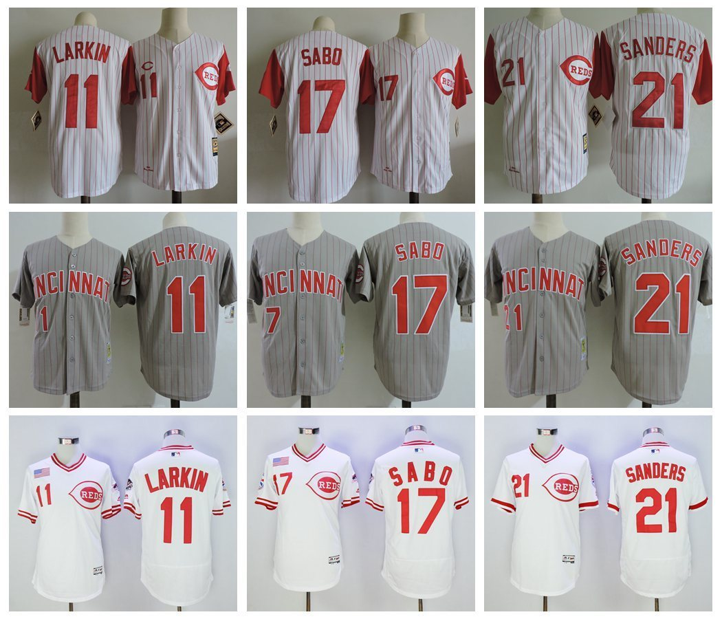 MLB Mens Cincinnati Reds jerseys ...