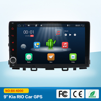 Android 7,1 Quad шнур, пригодный для KIA RIO 2017 dvd плеер навигационная gps радио