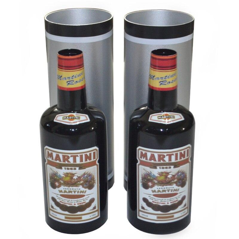 Botellas multiplicadoras/botellas negras que aumentan el movimiento (10 botellas, líquido Pured) trucos de Magia truco de Magia mentalismo ilusión Magia - 3
