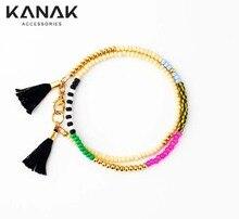 Boho bracelet Brazilian Beaded Bracelet Tassel Bracelets handmade Bohemian jewelry For women