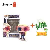 3.6 3.8 Buy One Get Gift Squishy Beans Squeeze Funko POP 41 Harry Potter Luna Lovegood Figure Doll Box Egg Figure Toy jooyoo
